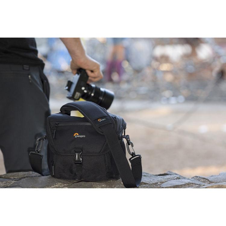 a3965d8d62f9 Купить сумку для фотоаппарата Lowepro Nova 180 AW II черная
