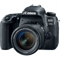 Цифровой фотоаппарат Canon EOS 77D Kit (EF-S 18-55mm f/4-5.6 IS STM)