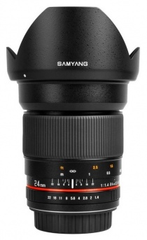 Неавтофокусный объектив Samyang 24mm f/1.4 ED AS IF UMC Aspherical Canon EF