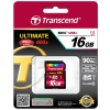 Карта памяти SDXC Transcend 64 Gb Ultimate UHS-I Class 10 600x (TS64GSDXC10U1)