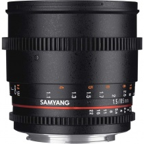Неавтофокусный объектив Samyang VDSLR 85mm T1.5 AS IF UMC Nikon F