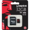 Карта памяти SDHC Kingston micro 32 Gb (SDCA3/32GB)  R90/W80