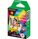 Пленка Fujifilm instax mini Rainbow Film (10 штук в упаковке)