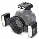 Макровспышка Meike MK-MT24II 2.4G Wireless Macro Twin Lite Flash TTL for Nikon
