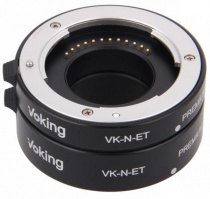 Комплект макроколец Voking VK-N-ET Metal for Nikon