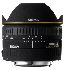 Объектив Sigma 15mm f/2.8 EX DG fisheye for Nikon
