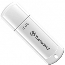 Флешка USB 16GB Transcend JetFlash®370 (TS16GJF370) White