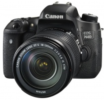 Canon EOS 760D kit (Canon EF-S 18-135mm IS STM)