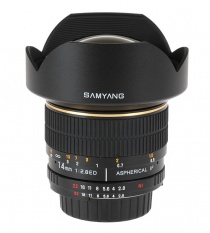 Неавтофокусный объектив Samyang 14mm f/2.8 ED AS IF UMC Aspherical Canon EF