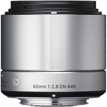 Объектив Sigma 60mm f/2.8 DN Sony E-mount Art Silver