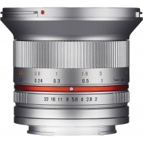 Неавтофокусный объектив Samyang 12mm F/2.0 ED AS NCS CS Sony E (NEX) Silver