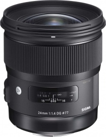 Объектив Sigma 24mm f/1.4 DG HSM Art for Nikon