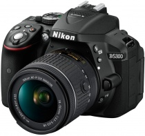 Nikon D5300 kit (Nikkor 18-55mm f/3.5-5.6G VR AF-P DX)