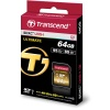 Карта памяти SDXC Transcend 64 Gb Ultimate UHS-I Class 10 U3X Great for 4K Video (TS64GSDU3X)