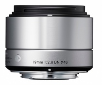 Объектив Sigma 19mm f/2.8 DN Sony E-mount Art Silver