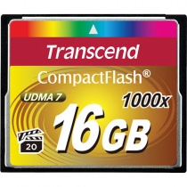 Compact Flash Transcend Ultimate 16 Gb 1000x