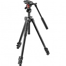 Штатив Manfrotto 290 Light (MK290LTA3-V) + Головка Befree Live (черный)