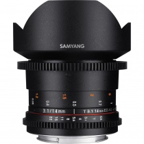 Неавтофокусный объектив Samyang VDSLR II 14mm T3.1 ED AS IF UMC Canon EF